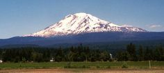 Mount Adams, WA. I see this view out my windows every day! How lucky am I :)