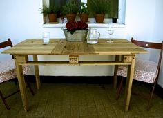 Stul Taiboku z japonského cedru / Table Taiboku from japanise ceder wood /from pallets/
