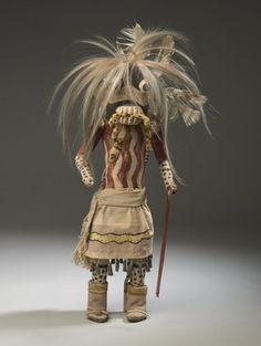 Brooklyn Museum: Arts of the Americas: Kachina Doll (Hilili Kohanna)