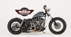 Bankrobber Harley Davidson Shovelhead.....ok how cool is this?