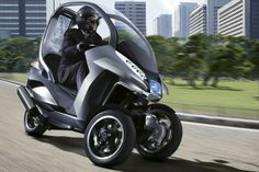 Bike Car | Peugeot - Hybrid Motorcycle/Car: 118 Miles to the Gallon