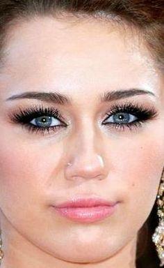 Miley cyrus making asian eyes