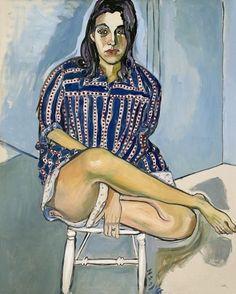 Alice Neel, Untitled, Oil on canvas