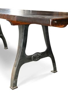 Urban Farm Table With Industrial Machine Legs And Extensions: Architectural  Salvage Online Store, Buy