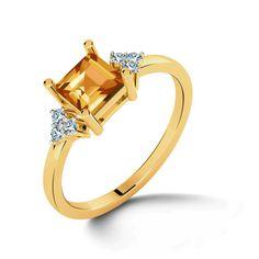 Noblesse Citrine Ring