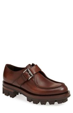 Prada Buckle Loafer (Men) available at #Nordstrom