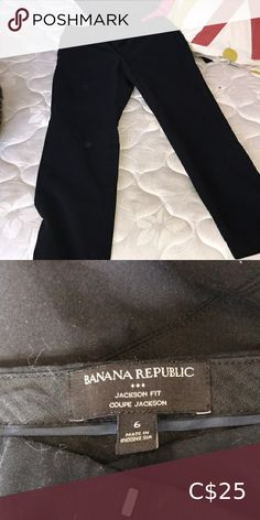 Pants Good for office workers and never worn 10/10 Banana Republic Pants & Jumpsuits Banana Republic Leggings, Banana Republic Trousers, Banana Republic Dress, Flowy Pants, Trouser Pants, Wide Leg Trousers, Pant Jumpsuit, Black And White Suit, White Suits