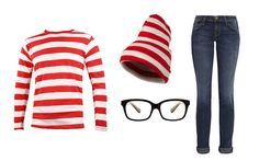 LAST-MINUTE HALLOWEEN COSTUME IDEAS: waldo halloween costume