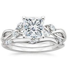 platinum willow diamond ring 2600 my favorite so far - Elvish Wedding Rings