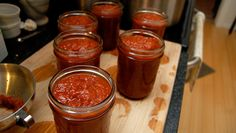 Homemade BBQ Sauce for canning: I will tell you a secret: I never buy tomatoes…