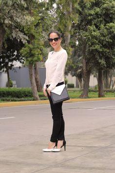 #Black&WhiteTrend Levi's jeans, LalaLove Shoes, Jimena Mujica Bag serendipity blog