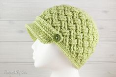 Crochet~ Celtic Dream Newsboy Hat-Free Pattern til Oct 9, 2015