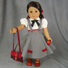 ~ TEACHER'S PET ~ 1950's 7 pc Blk/wht Dress SET ~ for AG Maryellen or Molly by idreamofjeannemarie via eBay SOLD 9/5/15 $126.00