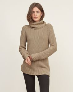 Womens Shaker Stitch Turtleneck Sweater | Womens Sweaters | Abercrombie.com