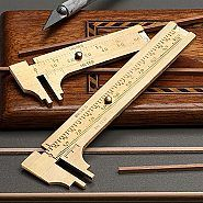 Handy Solid Brass Calipers