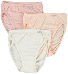 b20a3581c807 Jockey Womens Underwear Plus Size Elance French Cut 3 Pack *** Want to know