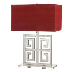 I pinned this Santorini Table Lamp from the AF Lighting event at Joss and Main!Greek,Asian inspired.