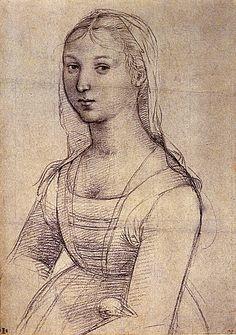 1504 Raphael A young Woman,