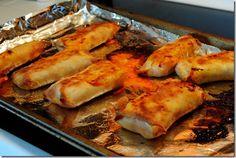 buffalo chicken egg roll recipe or cauliflower for vegetarians/Vegans
