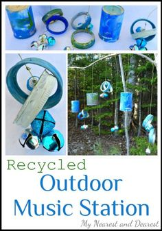 Recycled-Outdoor-Music-Station