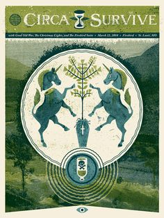 GigPosters.com - Circa Survive - Good Old War - Christmas Lights, The - Firebird Suite, The