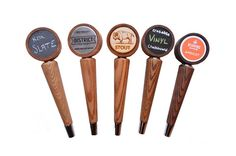 attractaTap Beer Tap Handle  Tapered  Interchangeable by BearTaps