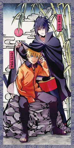 Naruto y Sasuke Naruto Vs Sasuke, Anime Naruto, Art Naruto, Naruto And Sasuke Wallpaper, Wallpaper Naruto Shippuden, Naruto Cute, Naruto Funny, Sakura And Sasuke, Naruto Shippuden Anime