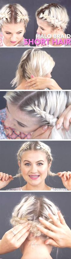 Splendid Halo Braid | 23 Easy Festival Hairstyles for Short Hair that works for long hair too!  The post  Halo Braid | 23 Easy Festival Hairstyles for Short Hair that works for long hair…  appeared first on  Hair and Beauty .