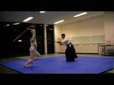 Aikido Melbourne - Staff vs. Staff 1