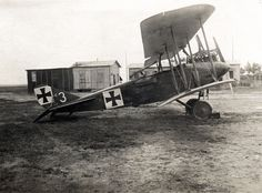 Starboard side view of a DFW C.V reconnaissance aircraft - Sissonne airfield by drakegoodman, via Flickr The D.V and its related designs were used as a multirole combat aircraft, for reconnaissance, observation, bombing by Germany and Austro-Hungary during World War I. They were also used by the Ottoman Empire in Palestine.WW I