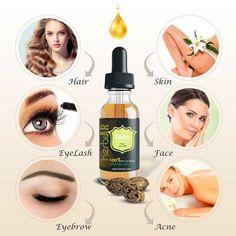 Castor Oil For Acne, Pure Castor Oil, Castor Oil For Hair Growth, Organic Castor Oil, Hair Growth Oil, Organic Oil, Target Hair Products, Pure Products, Castor Oil Eyelashes