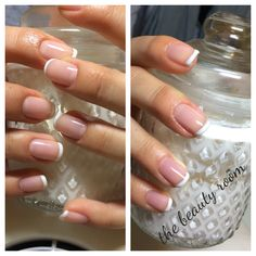 gel manicure # luxio. french