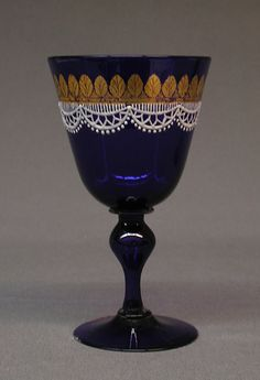 Goblet, 19th century | Probably made at Salviati and Co. | Venice (Murano), Italy | Material: glass | The Metropolitan Museum of Art, New York