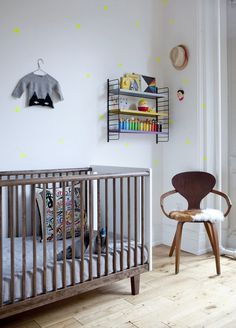 A two toned crib favorite.