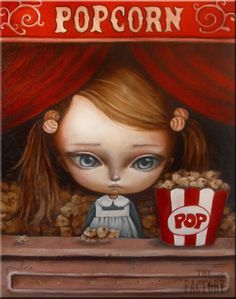 pop corn by paulee1.deviantart.com on @deviantART