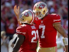 9b1fc68b4e0 Colin Kaepernick and Teammates Celebration Win Or Lose