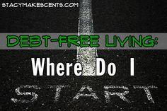 Debt-Free Living: Where Do I Start?