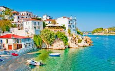 Go Island Hopping in the Sporades with Olympic Holidays. Explore the eastern coast of Greece, Skiathos, Skopelos and Alonissos. Best Greek Islands, Greece Islands, Greece Itinerary, Greece Travel, Best Places To Live, Places To Visit, Skopelos, Skiathos Island, Vacation Places