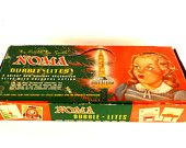 Vintage / Antique NOMA Bubble-Lites Christmas Lights with Metal Clips in Original Box (c.1950s) N1 - Collectible, Christmas Home Decor