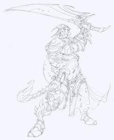 Rackham   Confrontation/Rag'Narok - Alchemists of Dirz   Edouard Guiton