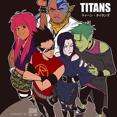 Something powerful teen titan swift