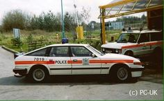 UK Police Rover SD1 3500