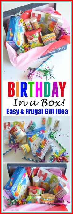 Birthday In a Box (Fun & Frugal Gift Idea) – Hip2Save