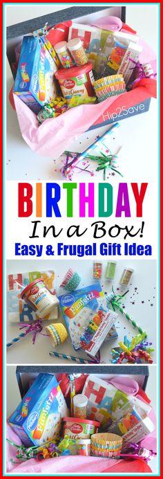 Birthday In a Box (Fun & Frugal Gift Idea) – Hip2Save