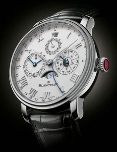 Blancpain Villeret Traditional Chinese Calendar Watch in Platinum