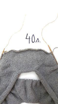 Helppo ohje paidan neulomiseen. Ylhäältä alas neulottu paita. Helppo ohje. Knitting Patterns Free, Knit Patterns, Crochet Chart, Knit Crochet, Bag Pattern Free, Clothes Crafts, Knitting Projects, Handicraft, Needlework