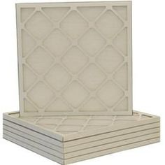 Filtrete 6-Pack Fiberglass Ready-To-Use Industrial Hvac Filters (Commo