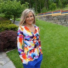 Ellen's Sewing Passion: Criss Cross Blouse