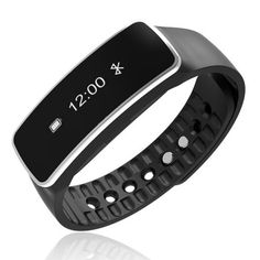 Sport Bracelet Bluetooth Sport Smart Wrist Watch Wristband Sports Wristband Sports Wristband Smartband Bracelet Fitness Activity Tracker Pedometer for iOS and Android Devices (Black) Smart Fitness Tracker, Fitness Activity Tracker, Watch For Iphone, Bluetooth, Workout Pictures, Fitness Pictures, Wearable Device, Smart Bracelet, Bracelet Watch