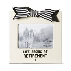 Amazon.com - Pavilion Gift Company 63013 Retirement Photo Frame, 7 by 7-Inch -